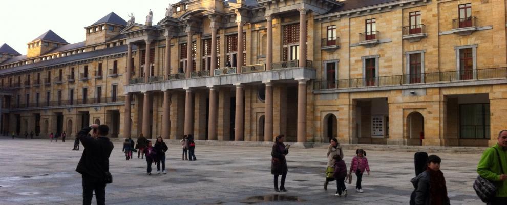 Universidad Laboral de Gijón.