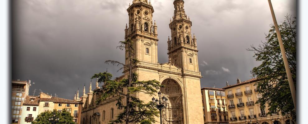 Concatedral De Santa María De La Redonda en Logroño, La Rioja ...