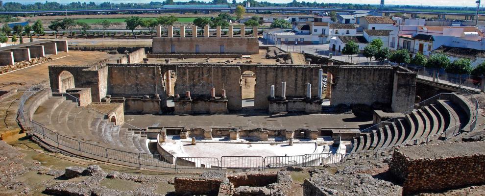 Teatro Romano en Santiponce, Sevilla - Clubrural